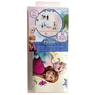 RoomMates Disney Frozen Peel & Stick 36 Wall Decals: Home Improvement