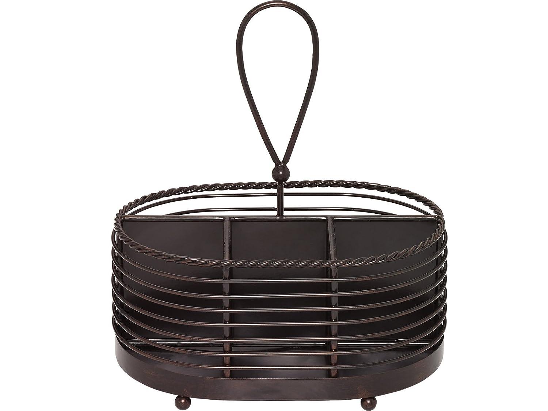 Plastic bakers rack - Wrought iron flatware ...