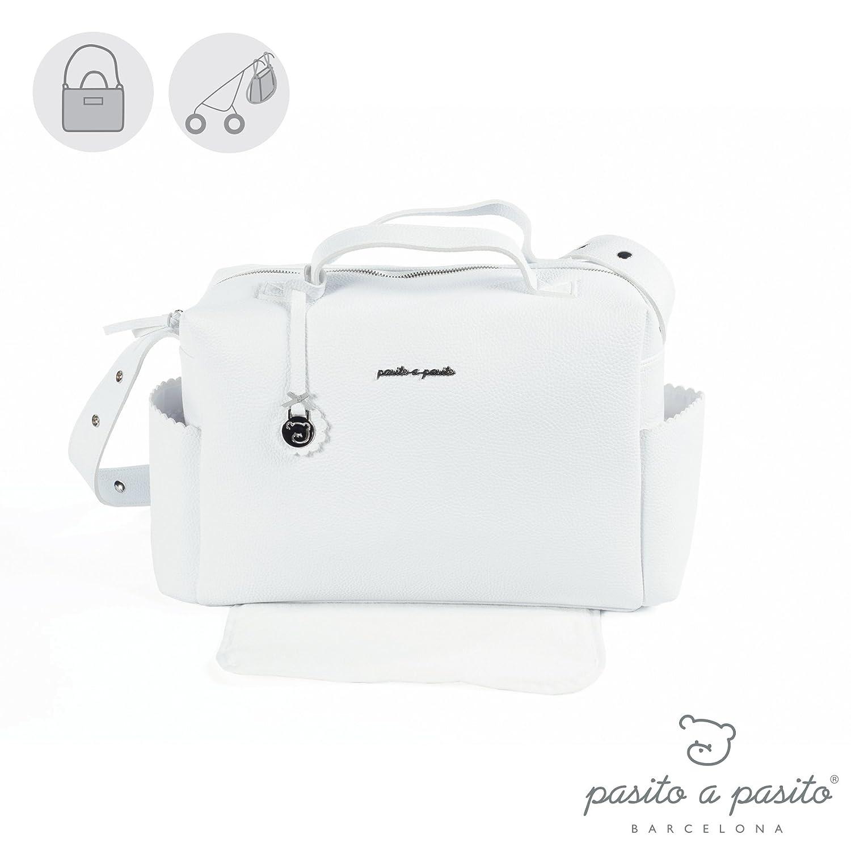 Pasito a Pasito Canastilla Total - Bolsa, unisex, color blanco Toyland & Gifts