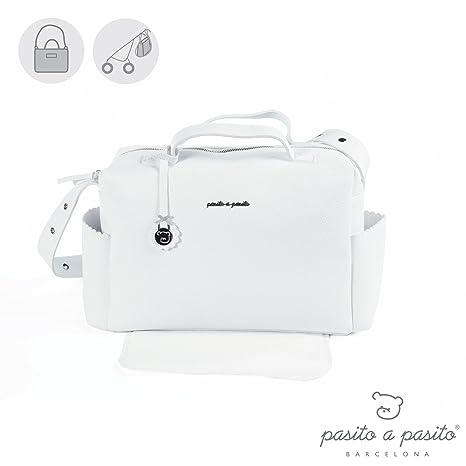 Pasito a Pasito Canastilla Total - Bolsa, unisex, color blanco: Amazon.es: Bebé
