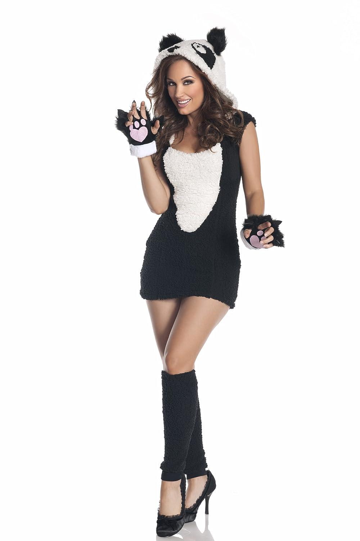 sc 1 st  Amazon.com & Amazon.com: Mystery House Panda Costume Black/white Small: Clothing