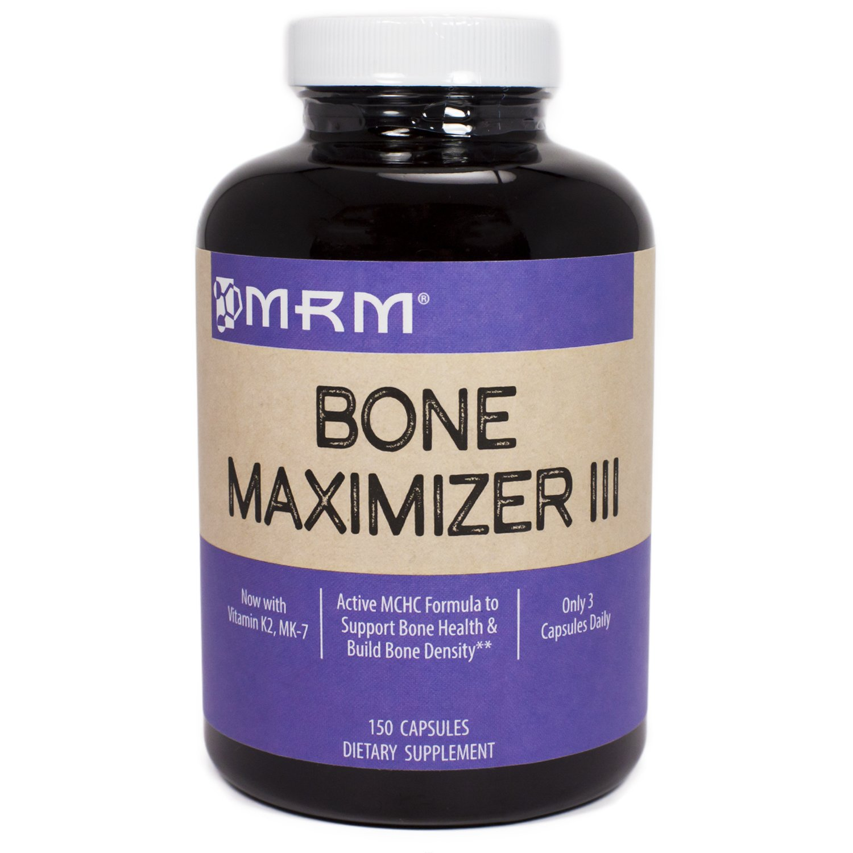 MRM Bone Maximizer III, 150 Capsules (Pack of 3)