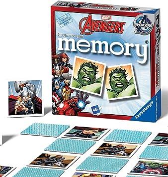 Ravensburger Avengers Assemble Juego de Tarjeta de Memoria: Amazon.es: Juguetes y juegos