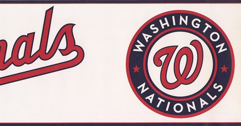 Washington Nationals Mlb Baseball Team Fan Sports Wallpaper Border Modern Design Roll 15 X 6 Amazon Com