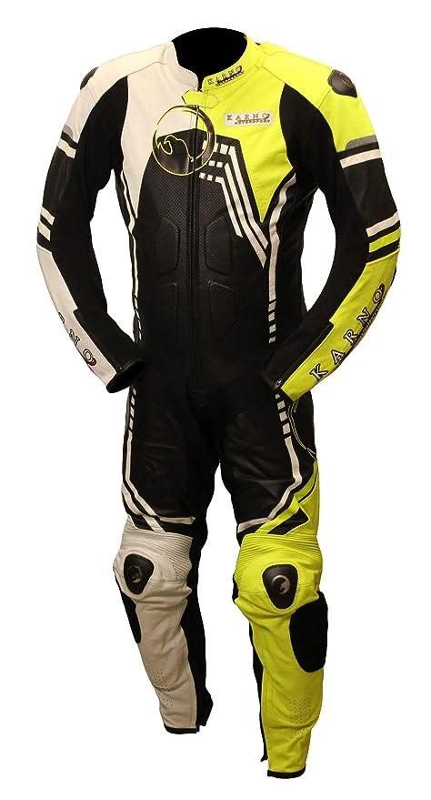 Karno-Motorsport traje de moto una pieza Fluo Air-Tech ...