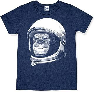 product image for Hank Player U.S.A. Ham The Astrochimp/NASA Helmet Kid's T-Shirt