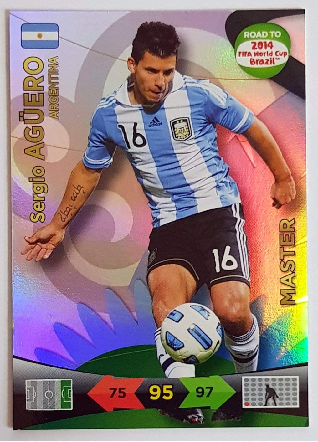 Panini adrenalyn road to fifa world cup 2014 Brasil-équipe Argentine