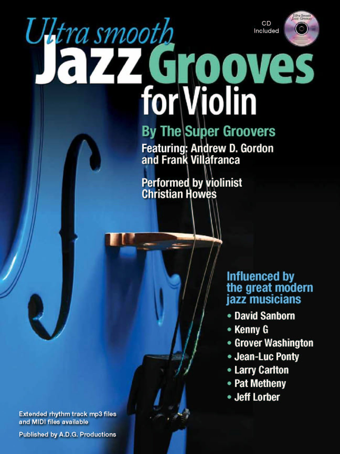 Download Ultra Smooth Jazz Grooves for Violin Book/CD ebook