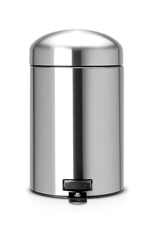 Amazon.com: Brabantia Retro – Cubo de la basura con pedal ...