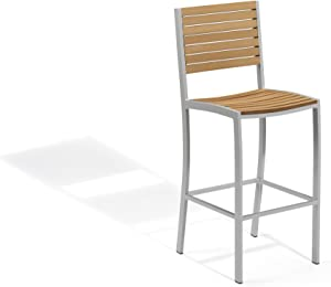 Oxford Garden - Travira Collection Bar Chair, Natural Tekwood