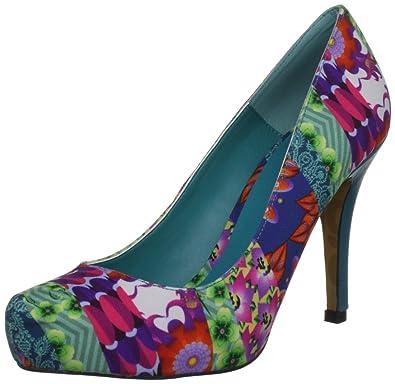 Escarpins Desigual Turquoise Moni Turquoise Femme Bwq5TwC