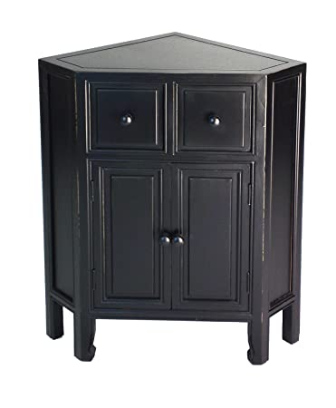 "Wayborn Home Furnishing Suchow Corner Cabinet, 30 x 23.5 x 16"", ..."
