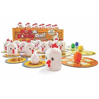 Fat Brain Peek-A-Doodle Doo! Memory Game Set: Toys & Games