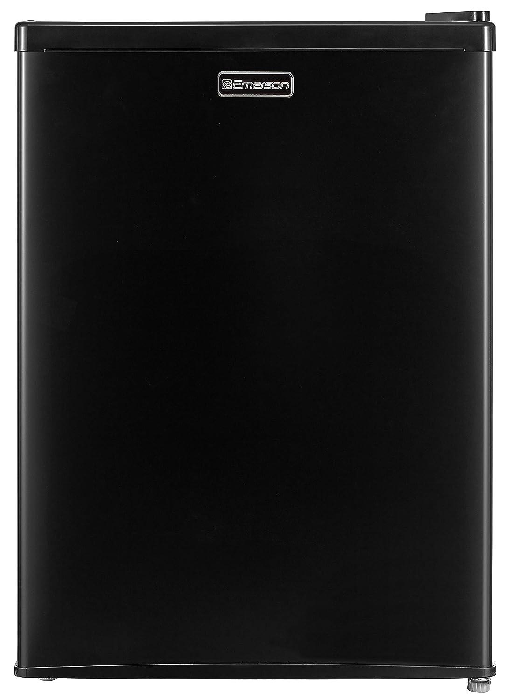 Emerson CR240BE 2.4 Cubic Foot Compact Single Door Refrigerator Black