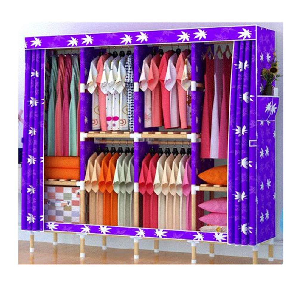 Amazon.com: PPKQ Portable Closet Mini Folding Closet Shelves ...