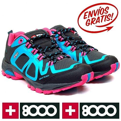 +8000 TAMAT W TURQUESA - Color - Turquesa, Talla - 39: Amazon.es: Zapatos y complementos