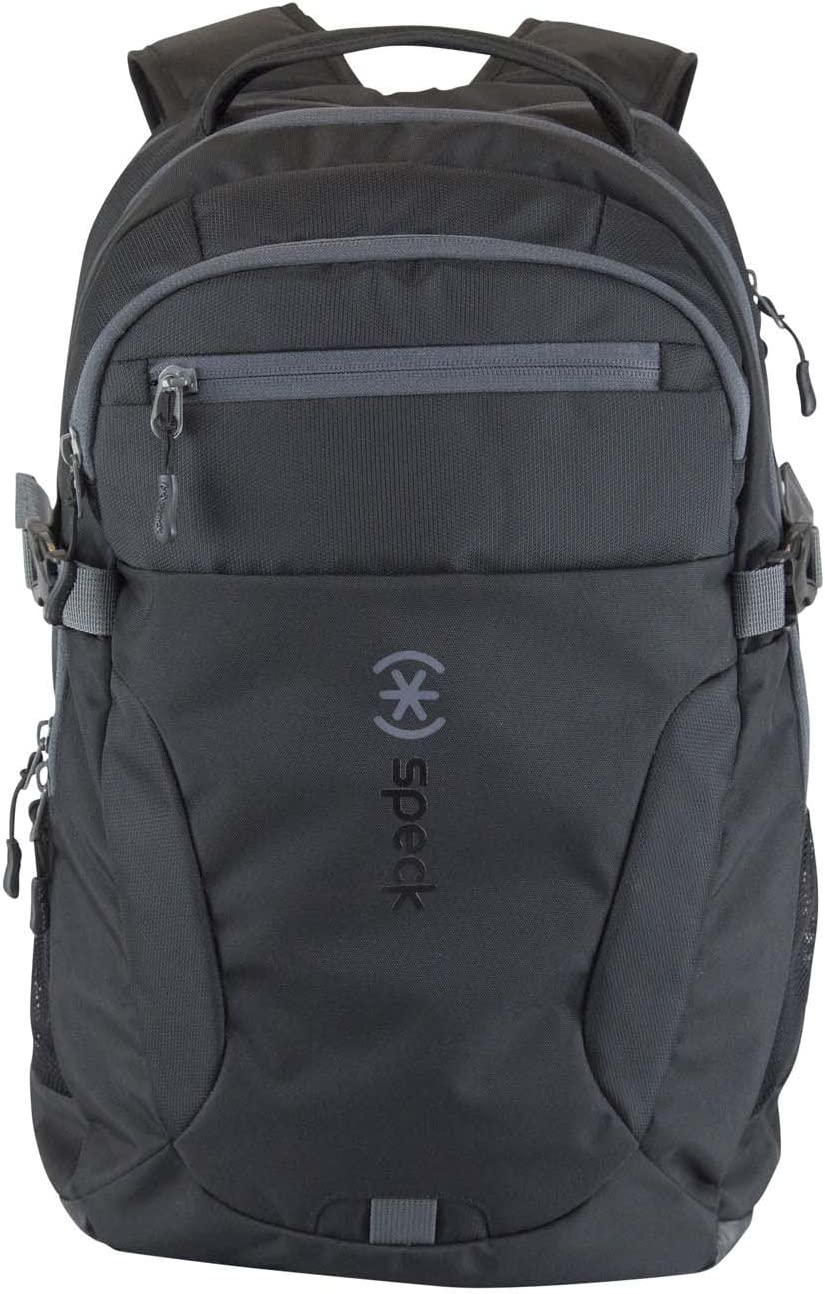 Speck Products Visor Backpack for Laptops, Black/Black