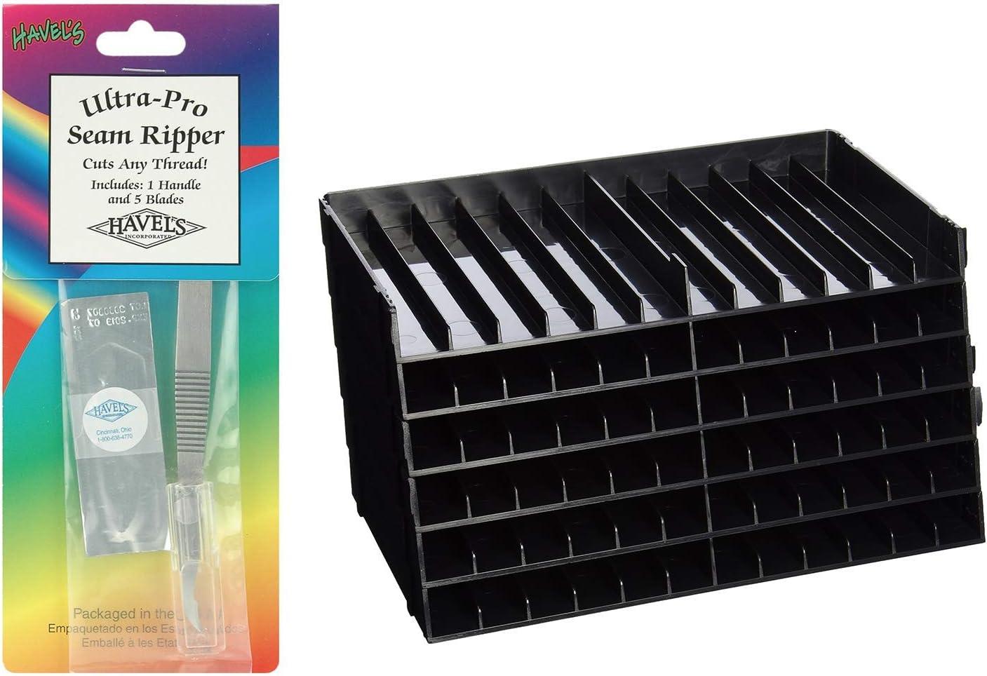 Crafter/'s Companion Spectrum Noir Marker Storage Trays 6//pack Pen Black