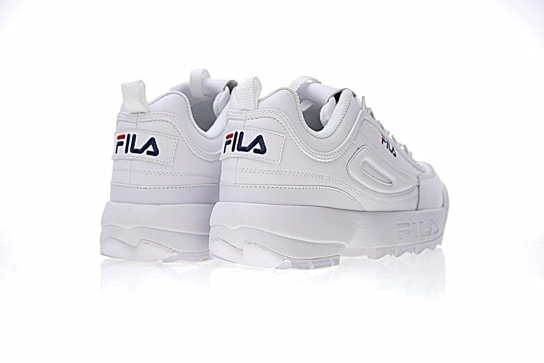 FlLA Baskets Fila Disruptor II 2 Low Zapatillas Baloncesto Mujer Zapatillas Blanco: Amazon.es: Zapatos y complementos