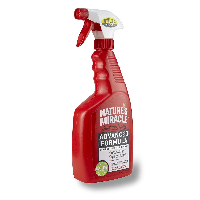 Milagro de la Naturaleza sólo para Gatos avanzado fórmula Graves Manchas y Olor Remover, 680 Spray (p-5723): Amazon.es: Productos para mascotas
