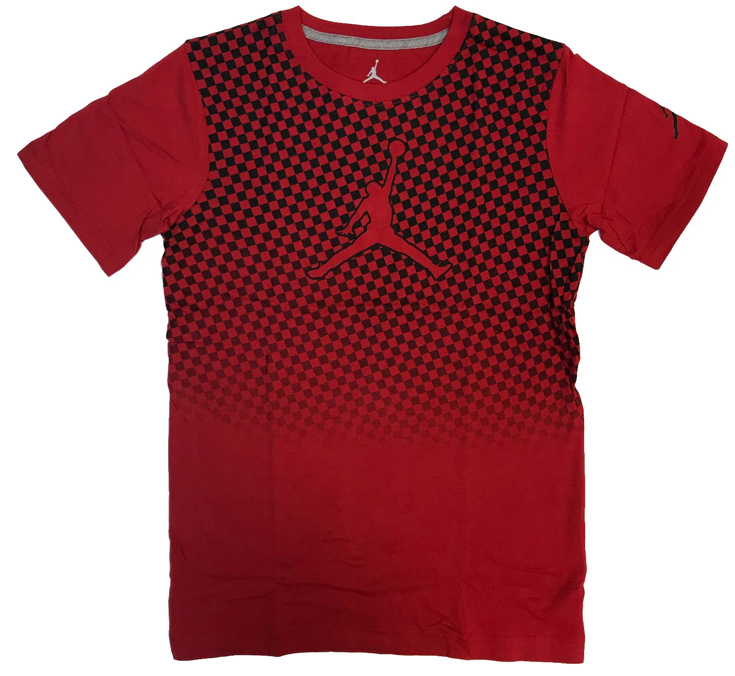 low priced 11d84 95ed7 Galleon - Nike Air Jordan Big Boys Jumpman Cotton Short Sleeve Tee Shirt  (Gym Red, Large)