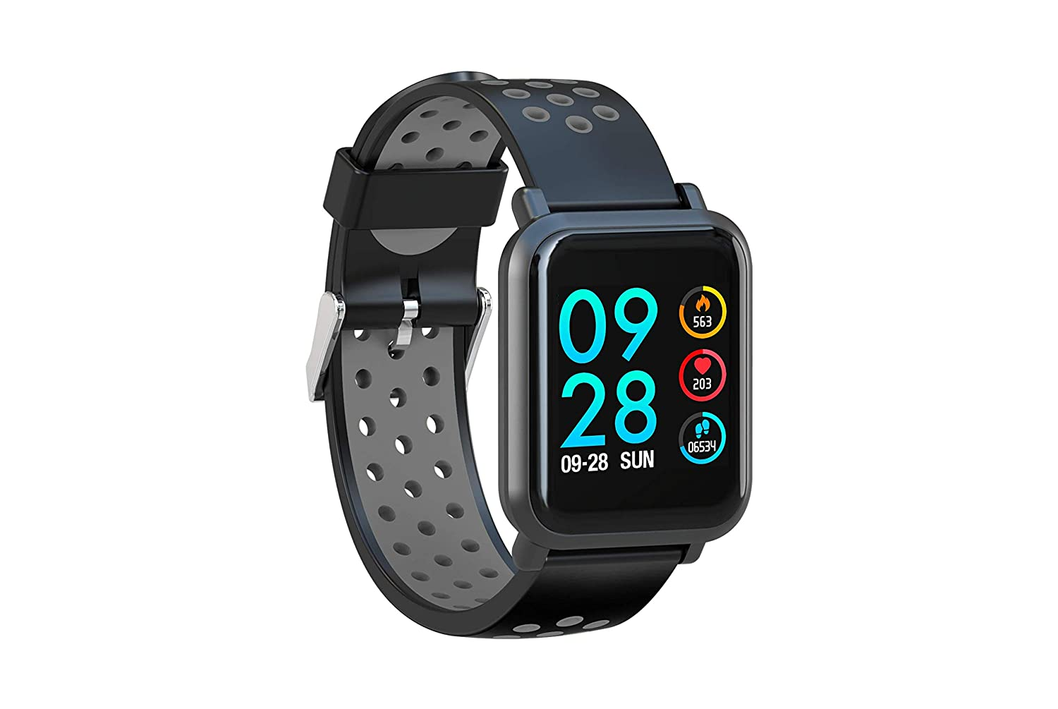 AQFIT Multifunction Smart Watch W8 (Gray Black) Best Sports Watches For Men to Buy Right Now in India