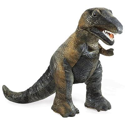 Folkmanis Tyrannosaurus Rex Hand Puppet: Toys & Games