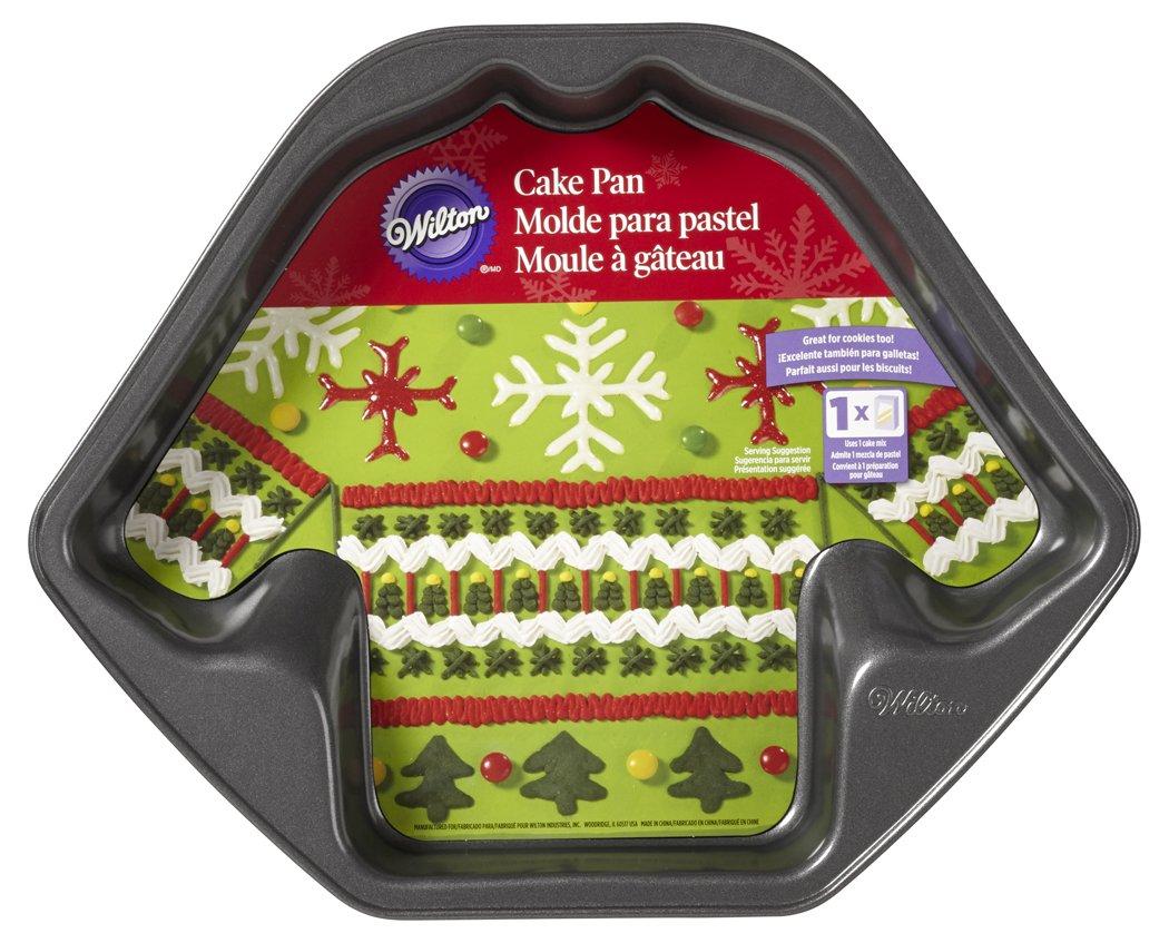 Amazon.com: Wilton 2105-0062 Christmas Ugly Sweater Non-Stick Cake ...