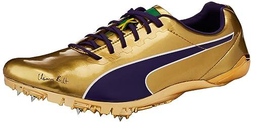 e8bf879da626d1 Puma Unisex s Bolt Evospeed Legacy Violet Indigo and Jelly Bean Running  Shoes-9.5 UK