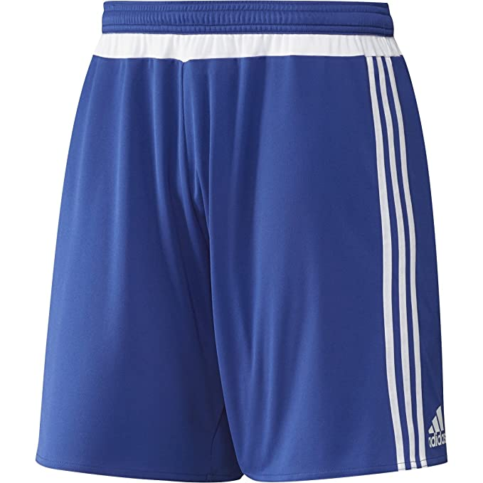 e23f83514 Image Unavailable. Image not available for. Color  adidas MLS 15 Match Mens Soccer  Short L Bold Blue White