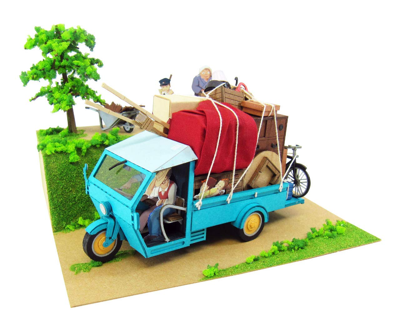 Mover MK07-14 (el arte de papel) Mi Vecino Totoro casa Kusakabe es 1/48 de la serie Studio Ghibli (japn importacin)