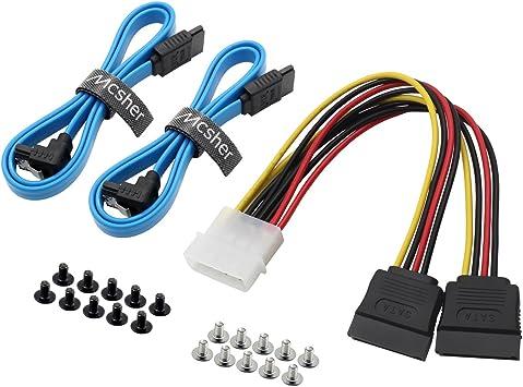 Cable divisor de alimentación SATA 3.0 SSD HDD de 20 pulgadas ...