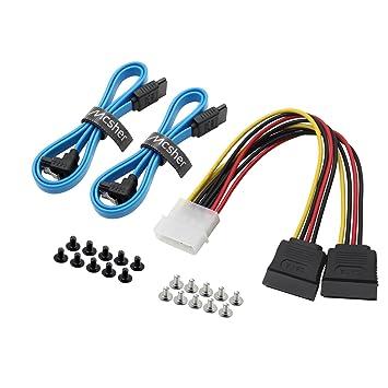 Cable divisor de alimentación SATA 3.0 SSD HDD de 20 pulgadas 6 ...