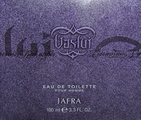 Jafra Vaslui Eau d Toilette 3.3 fl. oz.