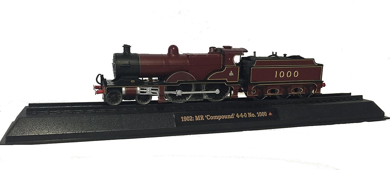 MR 'Compound' 4-4-0 No. 1000 - 1902 Diecast 1:76 Scale Locomotive Model (Amercom OO-14)