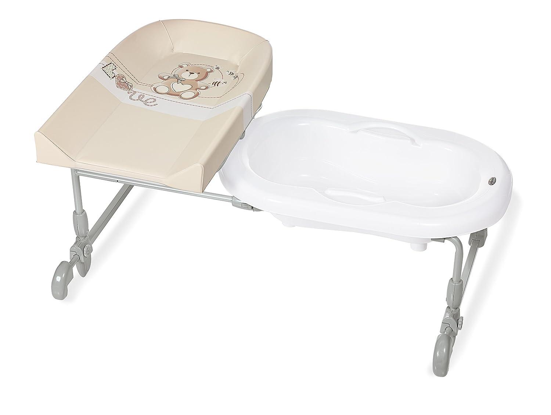 Brevi Bagnotime Adjustable Baby Bath (Happy Family) 594-501