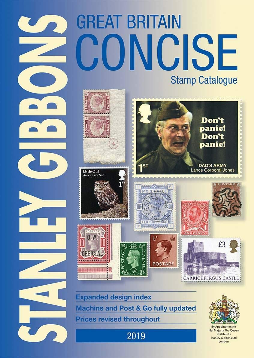 Great Britain Concise Stamp Catalogue 2019 Amazon Co Uk