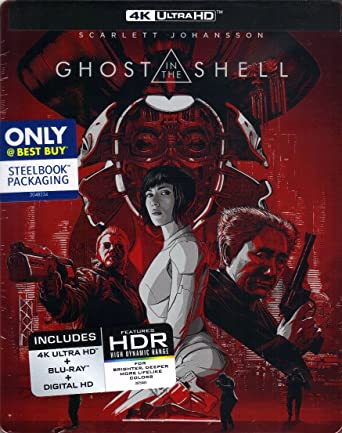 Amazon.com: GHOST IN THE SHELL 4K/Blu-ray/Digital HD ...