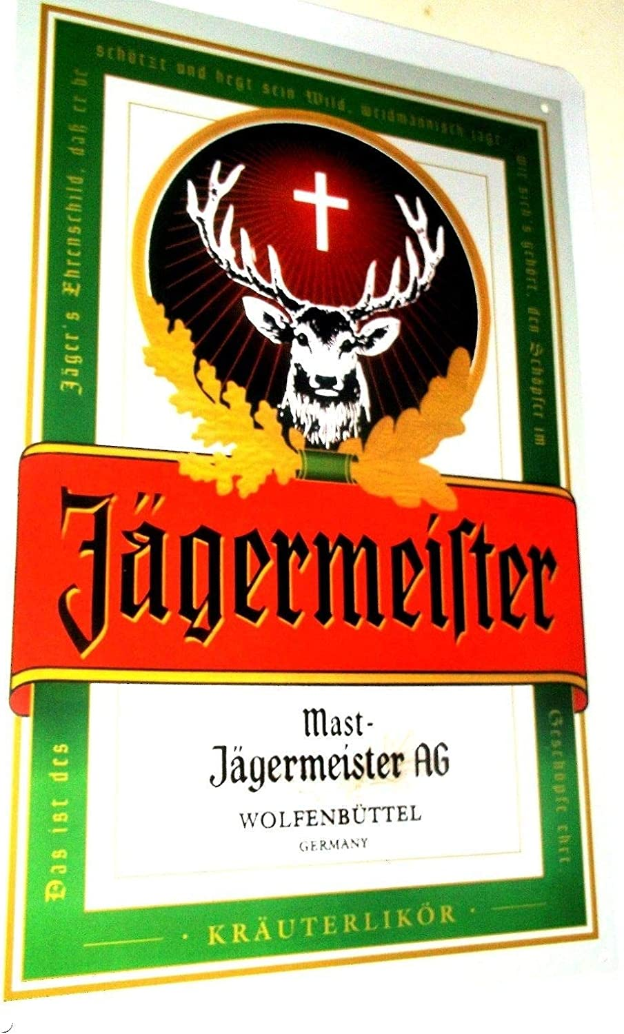 DOGT Jagermeister Metal Tin Signs Cafe Pub Bar Plaque Nightclub ...