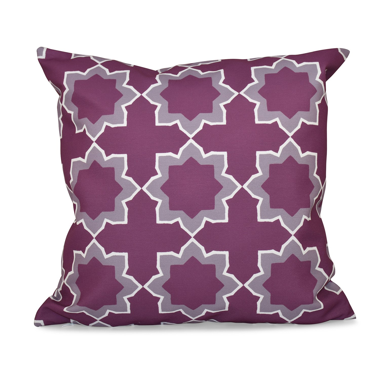 E by design O5PGN550PU5-18 Printed Outdoor Pillow