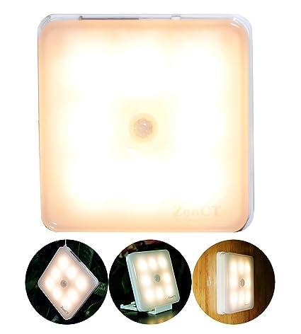 natural Life – Sensor de movimiento LED de luz, Aufladbares USB luz nocturna aktivierendes Movimiento