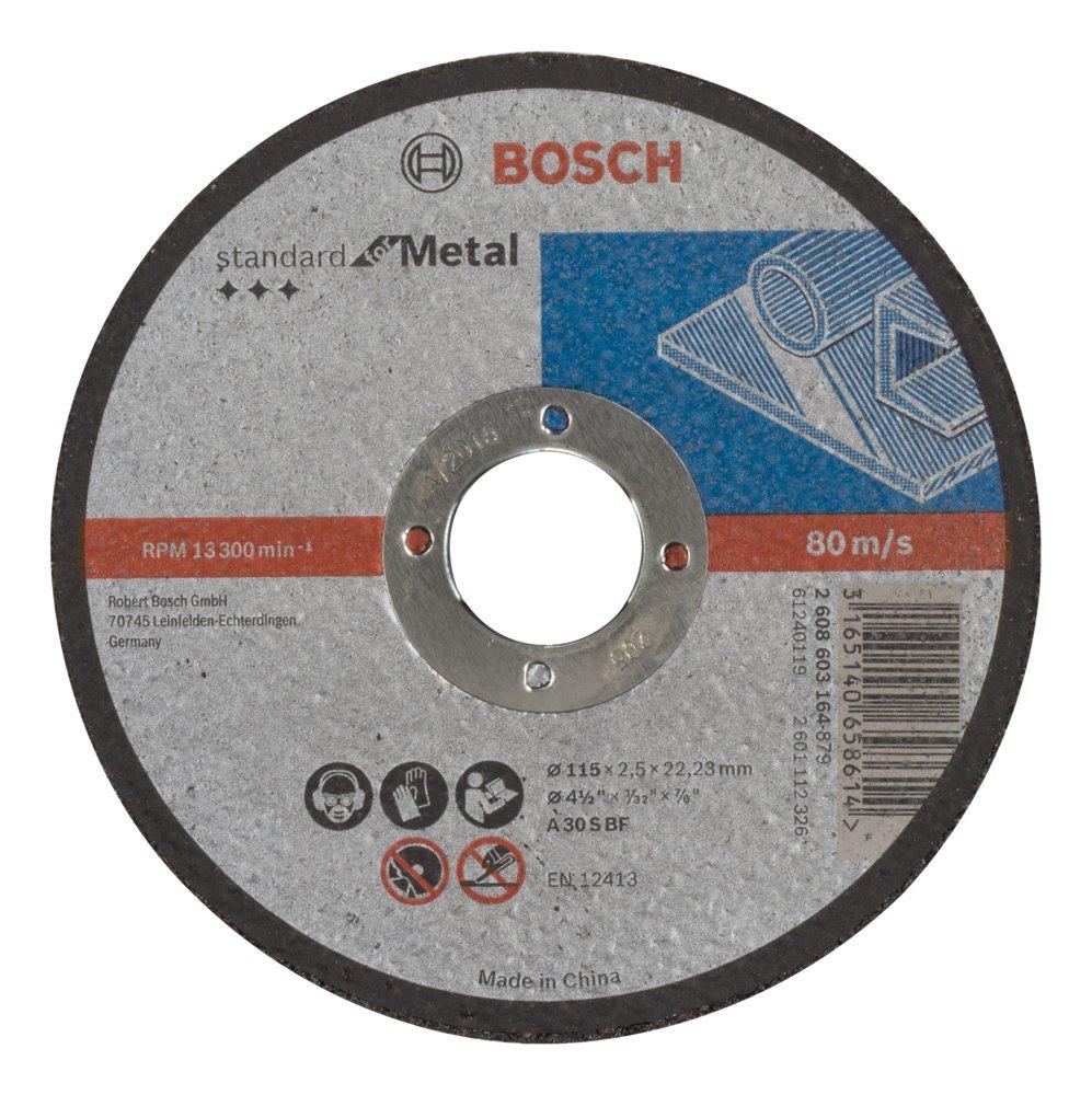 Bosch 2608603164 Standard for Metal Straight Cutting disc