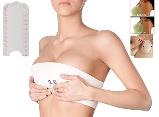 9c7e58a61c5 10 Breast lift Invisible Backless Bra Instant Enhancer Boob Tit Tape Cups  A-D UK