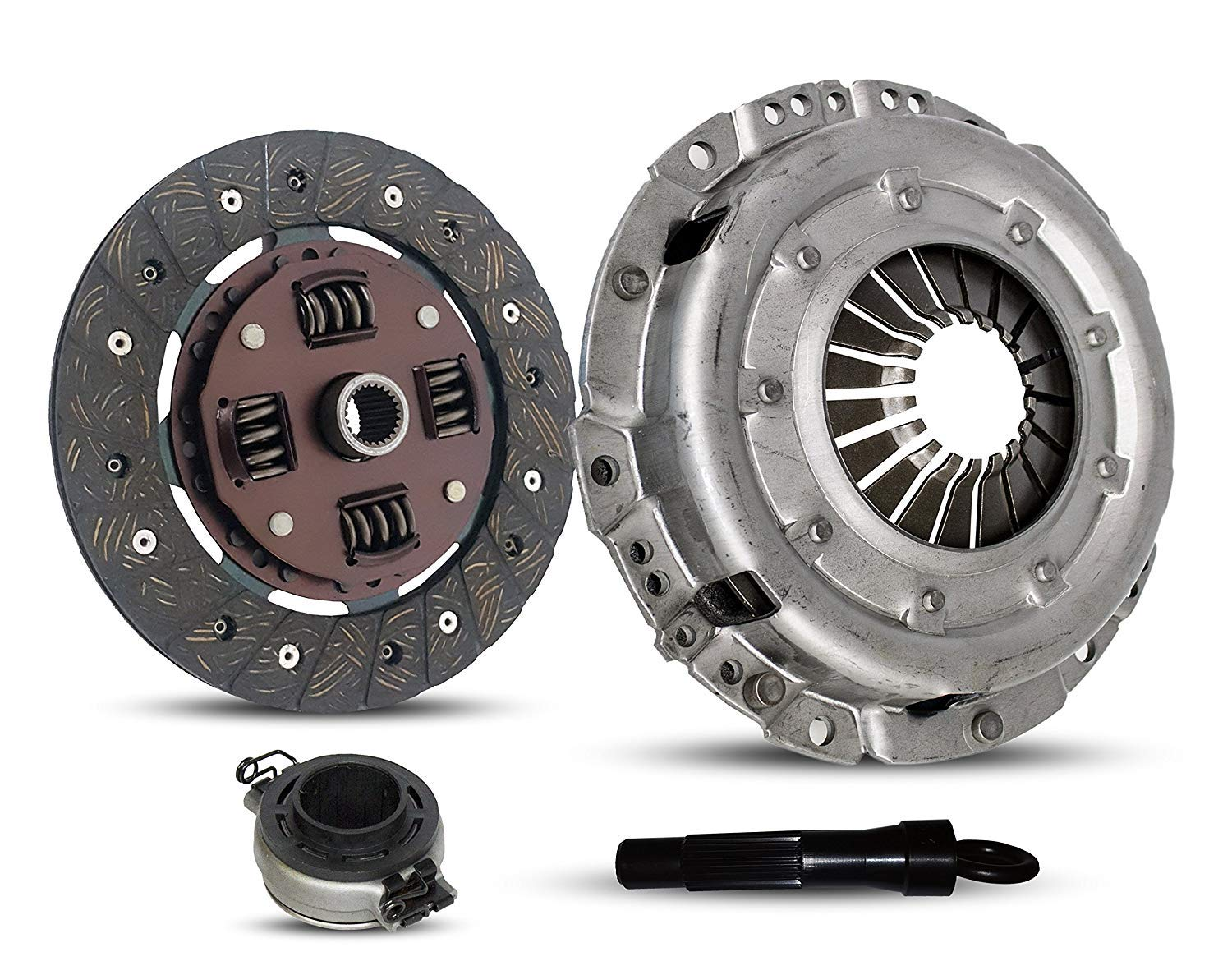 Clutch Replacement Kit works with Vw Beetle Fastback Thing Karmann Ghia Base Sedan Convertible 211 215 261 265 1970-1979 1.6L H4 GAS Naturally Aspirated (Flywheel Spec: -0.83; From 9/70)