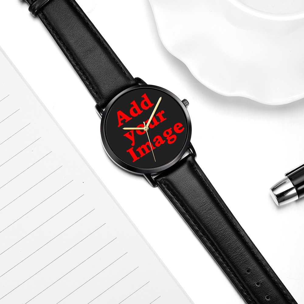 Kusa Fashion Panda Adventurer Wrist Watch, Panda Adventurer Pattern Design PU Leather with Stainless Steel Wrist Watch For Women and Men by Kusa (Image #5)