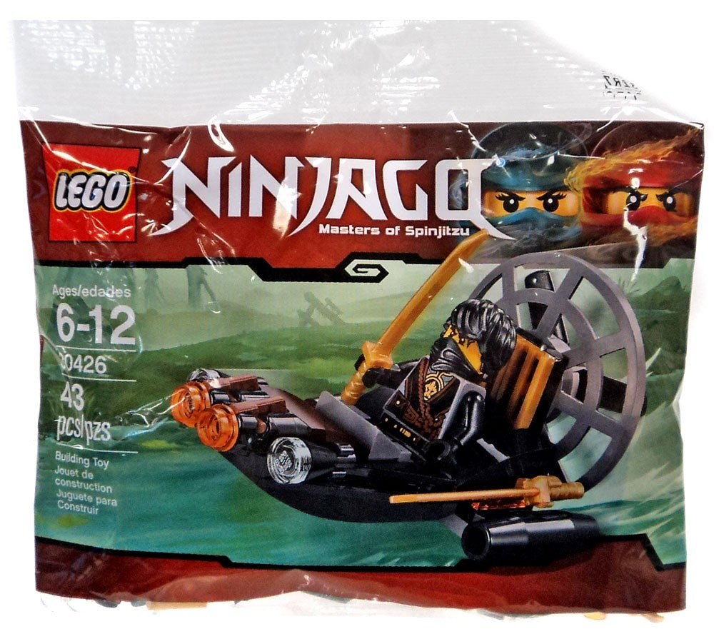 Amazon.com: LEGO Ninjago Stealthy Swamp Airboat (30426) Bagged: Toys & Games