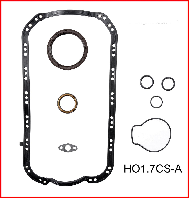 ReRing Kit w//Full Gasket Set Rings Bearings FITS 2001-2005 Honda Civic 1.7L SOHC L4 16v D17 D17A1 NON-VTEC