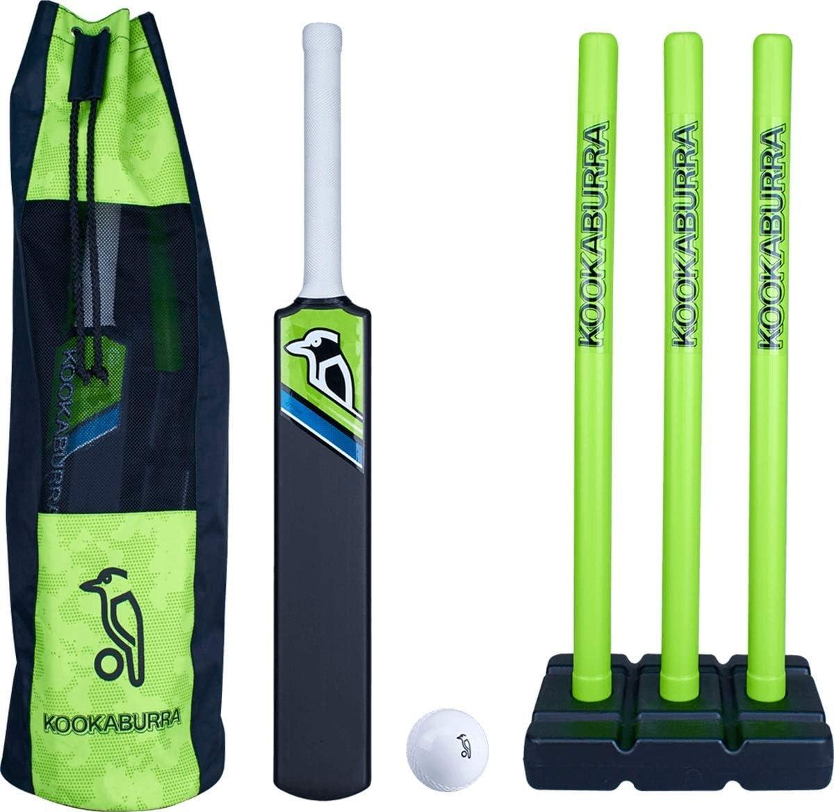 Kookaburra Blast Set Cricket Set Ball Bat Stump Garden Play Safe Plastic Toy