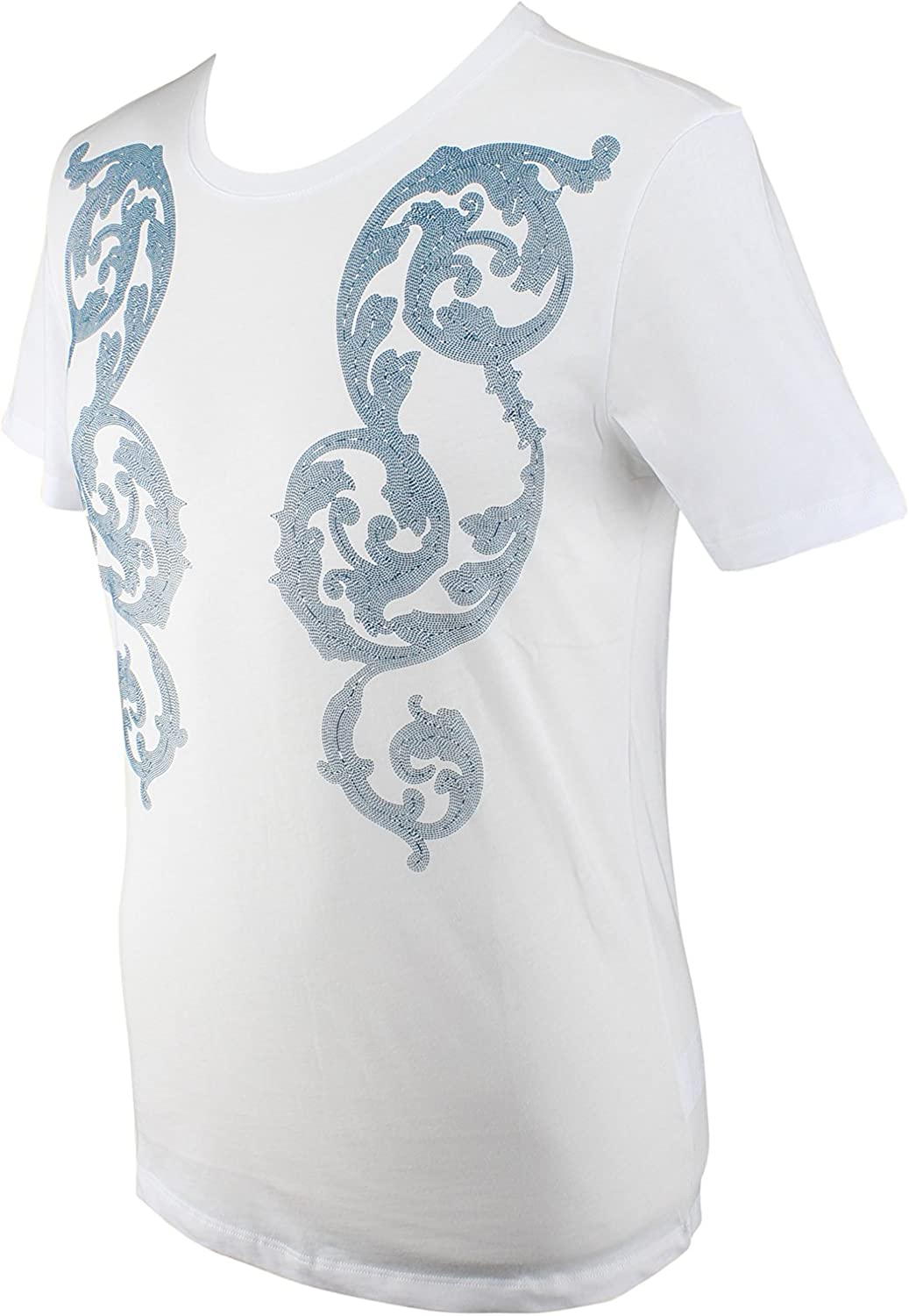 Versace Collection White Printed T-Shirt