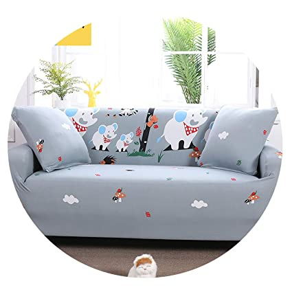 Amazon.com: Sprint-Love Cute Duck Pattern Sofa Cover Elastic ...